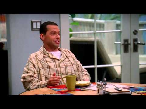 Two and a half men (season 11 episode 7) BEST PART EVER