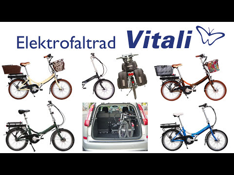 Elektro-Klapprad Vitali - Produktvideo Teil1