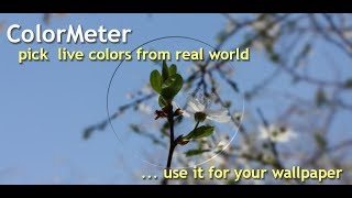 ColorMeter camera color picker YouTube video