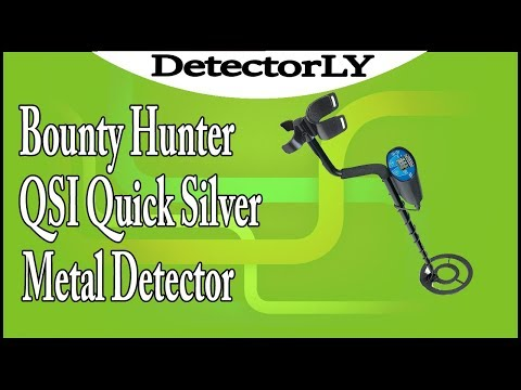Bounty Hunter QSI Quick Silver Metal Detector Review