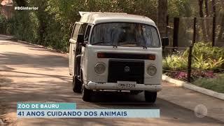 Zoo de Bauru completa 41 anos de muito trabalho e cuidado aos animais
