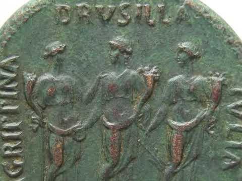 Römische Münzen mit Prof Kevin Butcher - Caligula und seine Schwestern