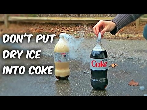 What Happens If You Put Dry Ice Into Coca-Cola