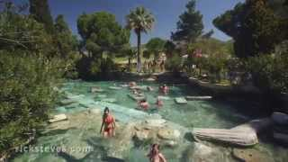 Pamukkale Turkey  City new picture : Hierapolis and Pamukkale, Turkey: Curative Waters
