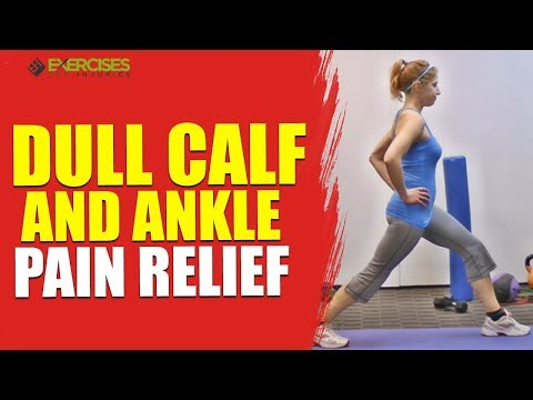 Dull Calf and Ankle Pain Relief