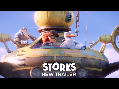 Storks Official Trailer 2
