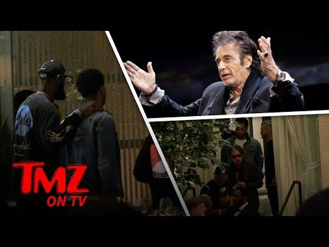 Lebron James Already Has High Profile Hollywood Friends   TMZ TV