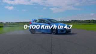 Ford Focus RS Will Hit 100km/h In Just 4.7 Seconds