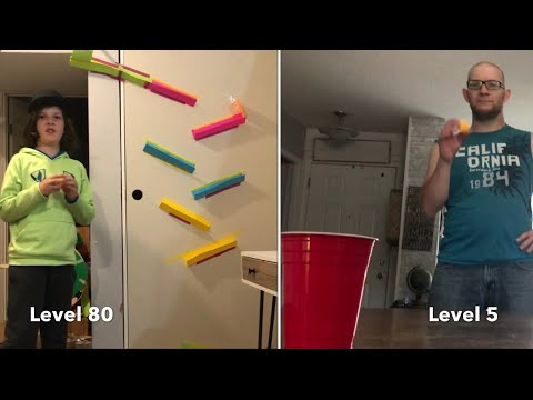 TRICK SHOTS From Level 1 to Level 100 | Thats Perfect