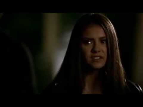 TVD 1x6 (Lost Girls)  Elena finds out the truth about Stefan