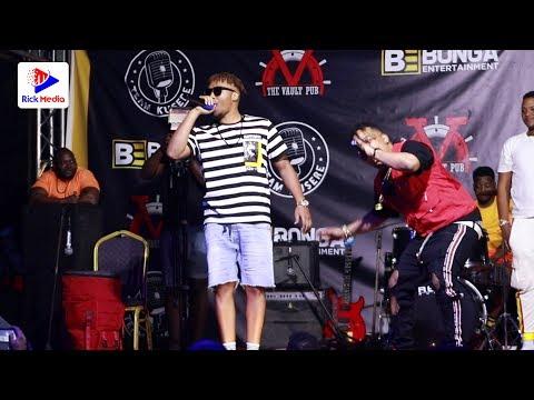 VIDEO: SHOW ya BOB JUNIOUR na BONGE la NYAU kwenye usiku wa Q CHIEF