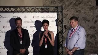 Anna Valle e Ulisse Lendaro all'Ischia Film Festival 2018 - Presentazione