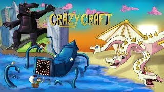 Minecraft | CRAZY CRAFT 2.0 RELEASE! (Helicopters, Super Heroes, Godzilla)