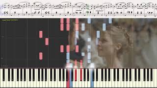 "Вальс (драма ""Маскарад"") - А. Хачатурян (Ноты и Видеоурок для фортепиано) (piano cover)"