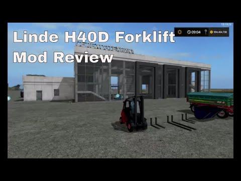 Linde H40D Forklifter v1.0.0.0
