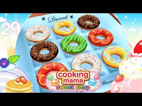 ♡ Cooking Mama Sweet Shop (Gameplay): 29 - Chocolate Donuts ♡