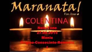 Nelu Tone-Mania-Originea,consecintele si remediul maniei I-27.09.2015