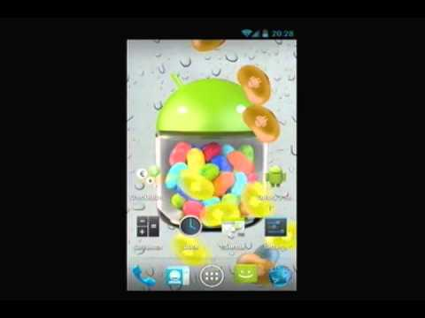 Video of Jelly Beans Rain LWP