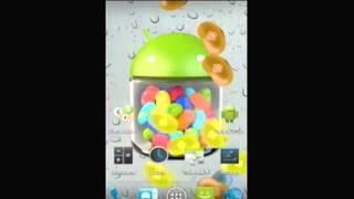 Jelly Beans Rain LWP YouTube video