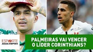 Palmeiras e Corinthians vão se enfrentar na próxima quarta-feira, às 21h45, no Allianz Parque. O jogo será válido pela 13ª rodada do Campeonato Brasileiro.