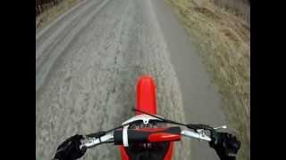 10. GO PRO - Honda crf100f Acceleration