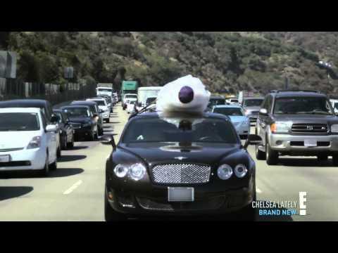 Chelsea Handler In A Bentley to a Drive-Thru [HD]