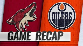 Hinostroza's SO goal lifts Coyotes past Oilers by NHL