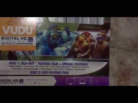Teenage Mutant Ninja Turtles: 2014 Movie - BluRay/DVD w/Bonus Masks Unboxing!