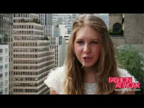 Fashion at Work in Teen Vogue: Super-Intern Colby Jordan