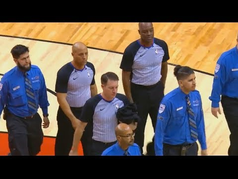 NBA Refs Get Police Escorted Out After Thunder vs Raptors Game For Ejecting DeMar DeRozan & Coach! (видео)