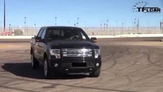 2013 RAM 1500 vs Ford F 150 Drag Race amp Burnout Mega Pickup Mashup
