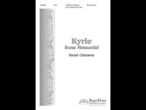 Kyrie - Rene Clausen