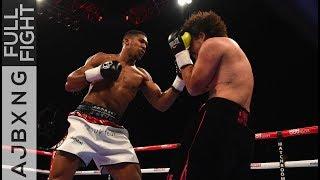 Video Full Fight | Anthony Joshua Vs Raphael Zumbano Love TKO MP3, 3GP, MP4, WEBM, AVI, FLV September 2019