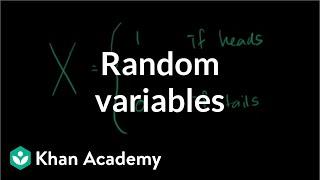 Random variables | Probability and Statistics | Khan Academy