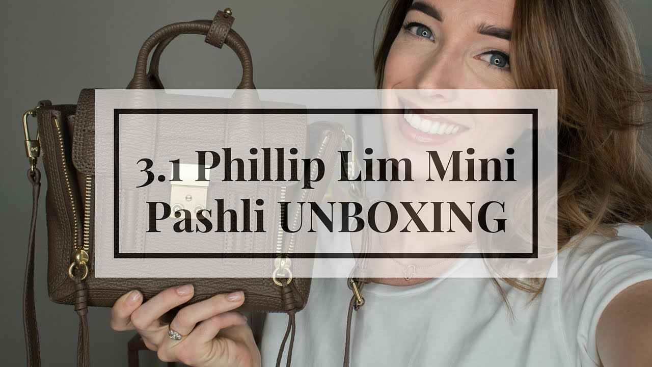 3.1 Phillip Lim Pashli Mini Satchel Taupe Unboxing & Overview | CIARA O'DOHERTY