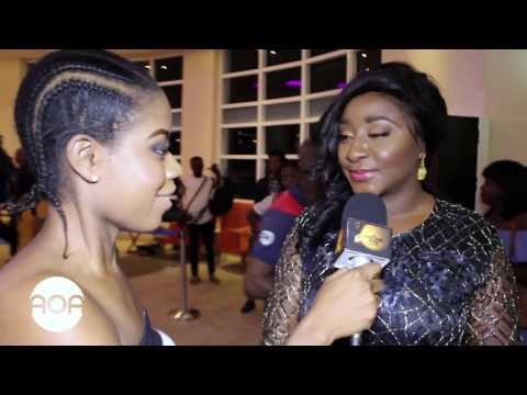 The Screening Room: Okafor's Law Nigerian Movie Premiere Red Carpet with Adenike