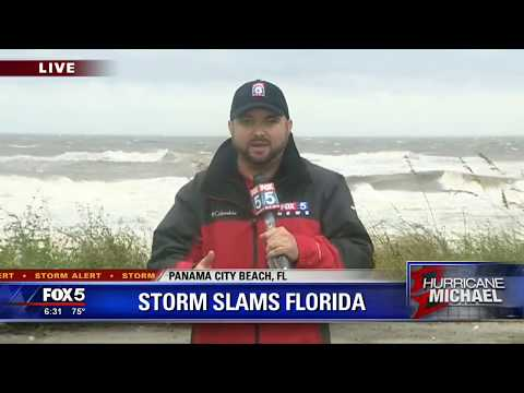 Michael leaves behind damage in Panama City Beach