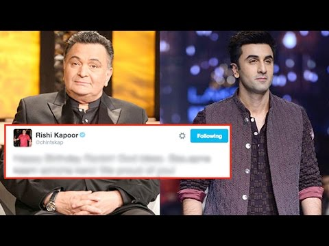 Rishi Kapoor's Birthday Wish For Ranbir Kapoor, Is