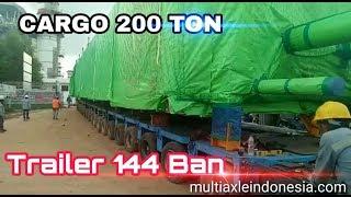 Video Truck MAN Ngoser - Transport Kargo 200 ton MP3, 3GP, MP4, WEBM, AVI, FLV Juni 2019