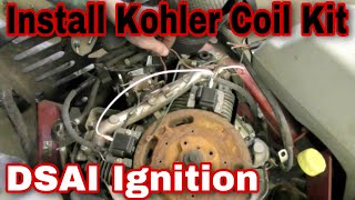 9. How To Install The Coil Kit On A Kohler Command Engine (DSAI Ignition) with Taryl