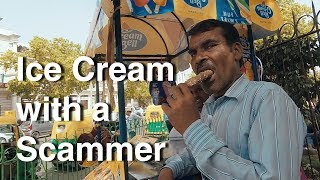 Video Eating Ice Cream with an Indian Scammer MP3, 3GP, MP4, WEBM, AVI, FLV Mei 2018