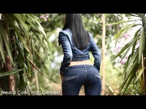 Красивая девушка, красивые джинсы