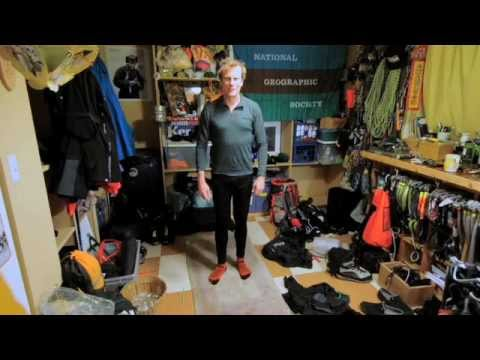 Conrad Anker and his Everest Gear