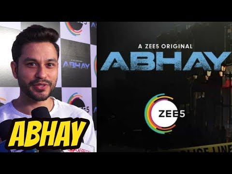 Kunal Khemu At Press Conference of ZEE5 web series ABHAY