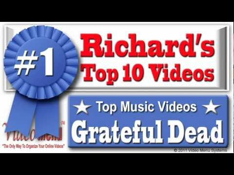 shiroo69 - These are Grateful Dead's Top 10 Music Videos. They have 11 Million Views together. Watch Just one Music Video or Watch them All with Automatic Play!!! Watch...
