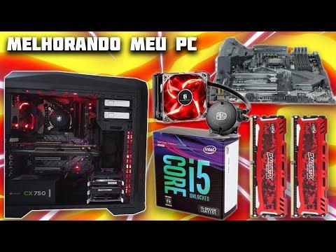 UPGRADE MONSTRO NO MEU PC GAMER - Noob Games