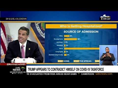 Trump appears to contradict himself on COVID-19 taskforce team