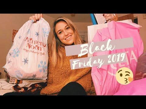 black friday shopping haul 2019 | american eagle, ulta, target, B&BW, and more!