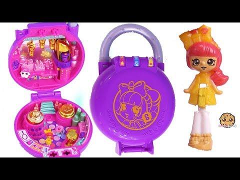 Tiny Makeup Salon Shop ! Shopkins Lil's Secrets with Mini Shoppies Doll