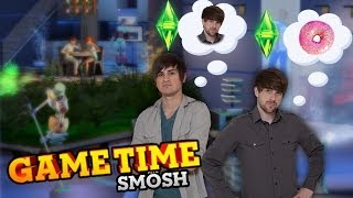 WE DESTROY THE SIMS FUTURE (Gametime w/ Smosh)